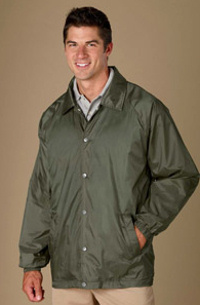 M775 Harriton Staff Jacket embroidered with your logo.