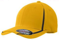 Custom embroidered Sport-Tek ® - Flexfit ® Performance Colorblock Cap. STC16.