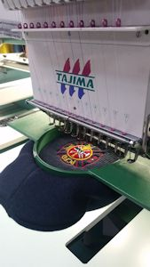Industrial, Top Quality Tajima Embroidery Machines, Multi Head Funtion